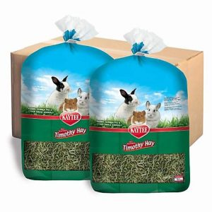 Kaytee Natural Timothy Hay for Rabbits & Small Animals, 12 lbs.