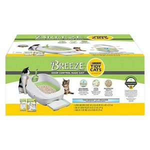 Purina Tidy Cats Breeze Cat Litter Box, 152 oz.