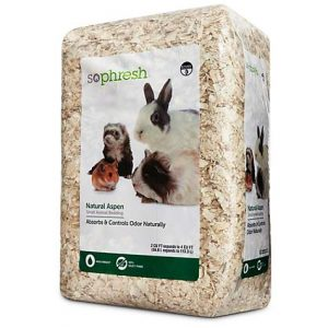 So Phresh Natural Aspen Small Animal Bedding, 56.6 Liters