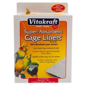 Vitakraft® Super-Absorbent Bird Cage Liners