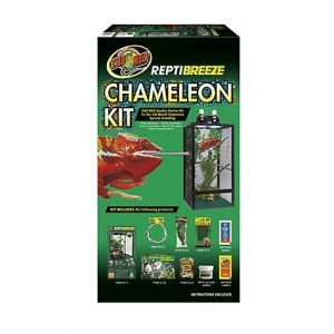 Zoo Med Repti Breeze Chameleon Kit, 16″ L X 16″ W X 30″ H