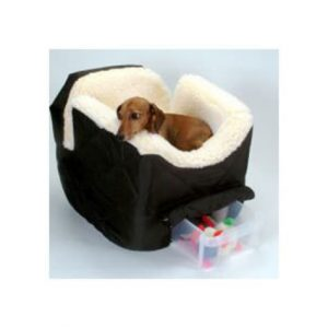 Snoozer Black Pet Car Seat Lookout II, Small
