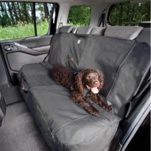 Kurgo Extended Bench Seat Cover In Charcoal, 63″