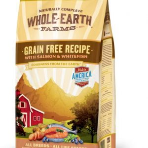Whole Earth Farms Grain-Free Salmon & Whitefish Dry Dog Food